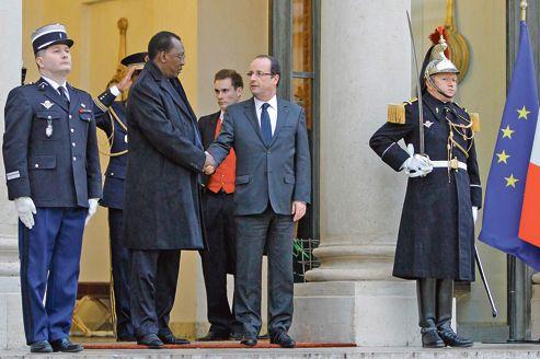 Idriss Déby Itno & François Hollande