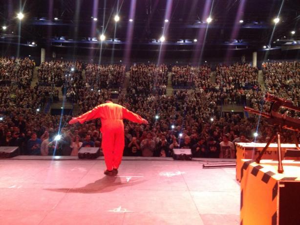Dieudonné à Nantes ce soir/Facebook Dieudonné