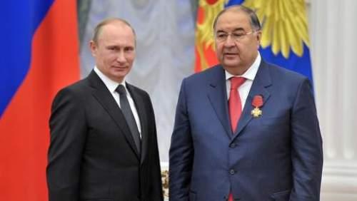 Poutine et Ousmanov