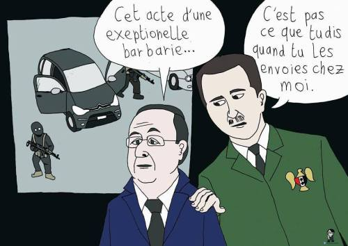 assad a hollande