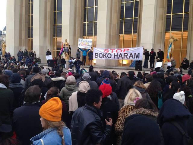 Rassemblement contre Boko Haram aujourd'hui à Paris