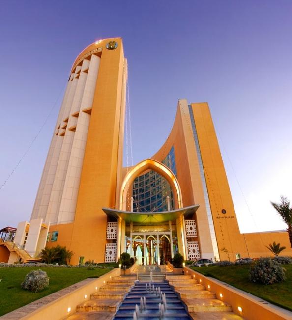 hôtel Corinthia de Tripoli (5 étoiles)