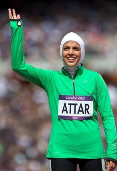 Sarah Attar, 1ere saoudienne a participer aux JO