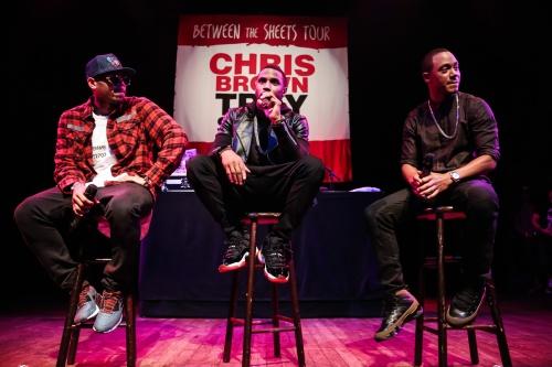Chris Brown, Tyga &Trey Songz