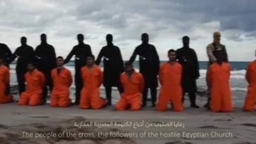 Chrétiens égyptiens décapités