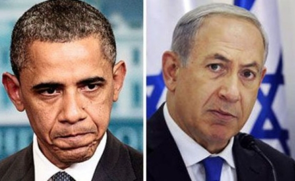 Barack Obama & Benyamin Netanyahou