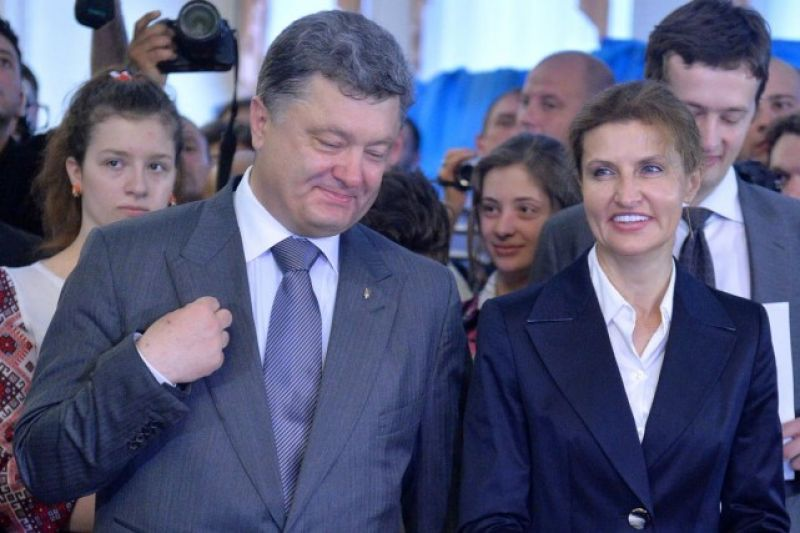 Petro et Marina Porochenko