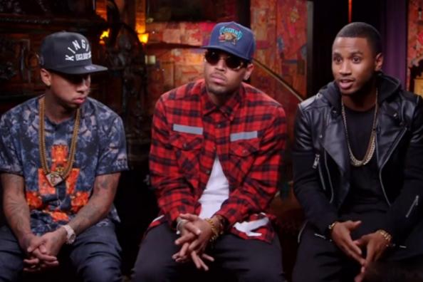 Tyga, Chris Brown & Trey Songz