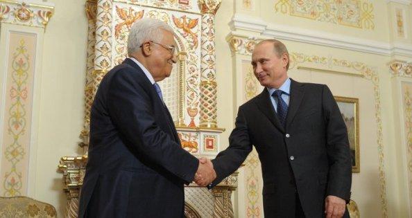 Poutine et Abbas/ © Sputnik/ Alexei Druzhinin