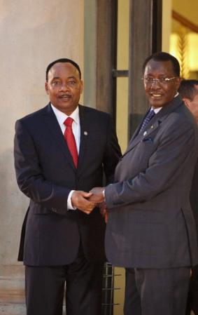 Mahamadou Issoufou et Idriss Déby