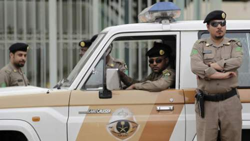 Policiers saoudiens (archives) © ap.