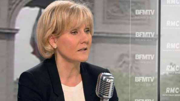 Nadine Morano/Capture d'écran YouTube/ ©BFMTV