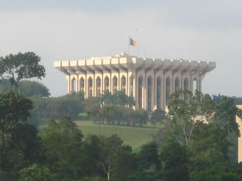 Palais de l'Unité/Etoudi/Yaoundé