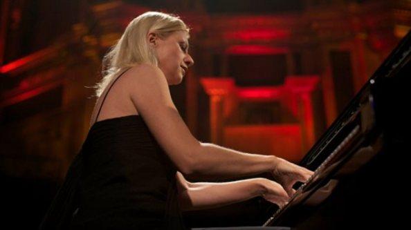 La pianiste ukrainienne Valentina Lisitsa  Photo :  Andrew Cowie/AFP/Getty Images
