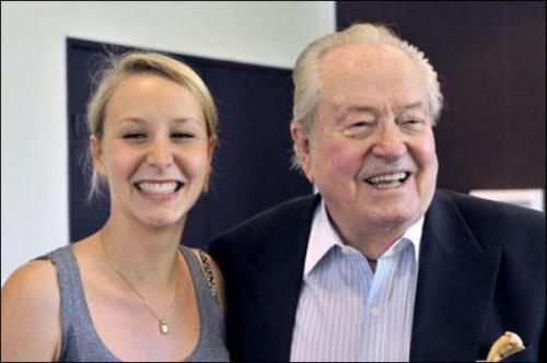Jean-Marie Le Pen et sa petite-fille Marion Maréchal-Le Pen.