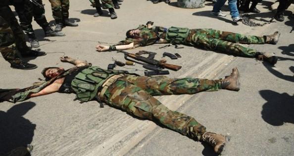 Terroristes tués à Damas aujourd'hui