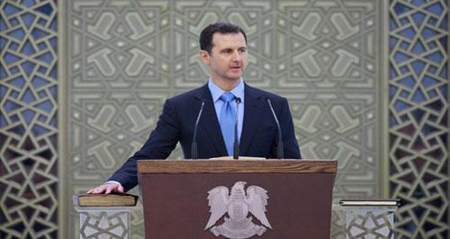 Le Dr. Bachar Hafez al-Assad