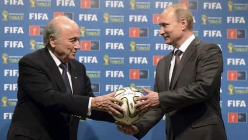 Blatter et Poutine