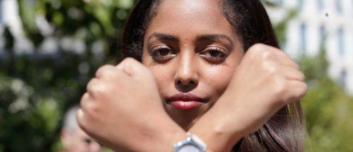 Israélienne d'origine éthiopienne