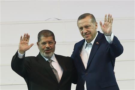 Mohamed Morsi & Recep Tayyip Erdogan