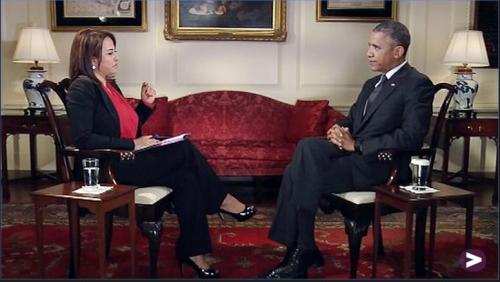 Nadia Bilbassy-Charters & Barack Obama