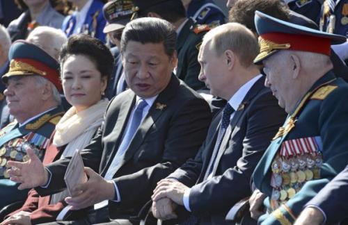 Vladimir Poutine et le président chinois Xi Jinping