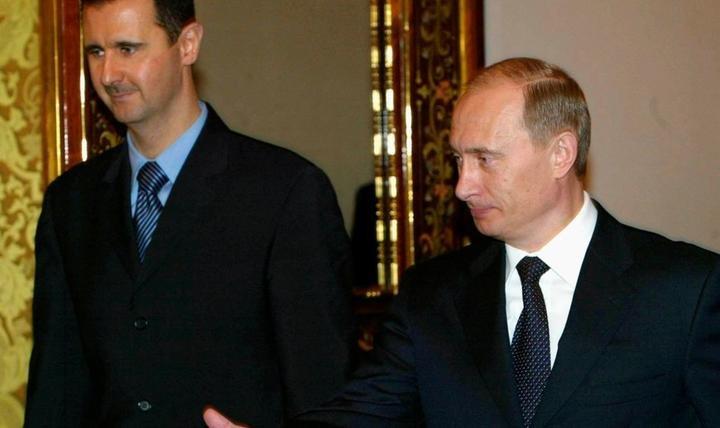 Assad et Poutine