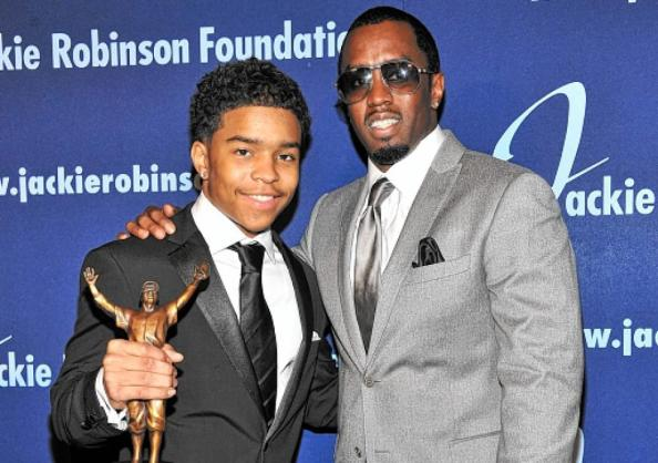 Justin Coms et Sean Combs (P. Diddy)