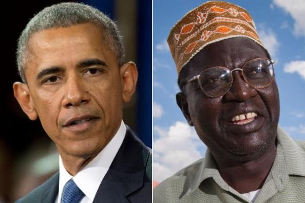 Barack et Malik Obama