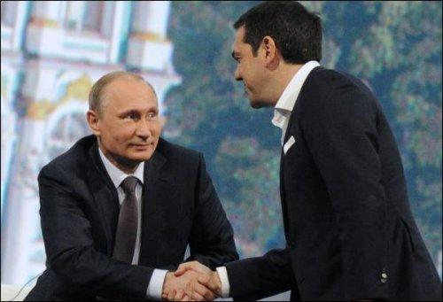Poutine et Tsipras