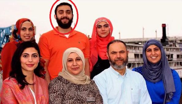 Muhammad Youssef Abdulazeez  en famille