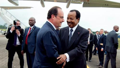 Hollande et Biya
