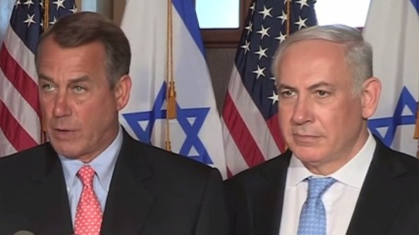 John Boehner et Benjamin Netanyahu