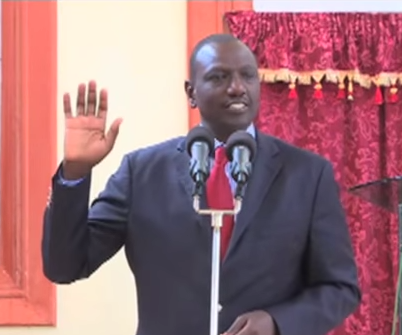 Le vice- President kenyan,  William Ruto